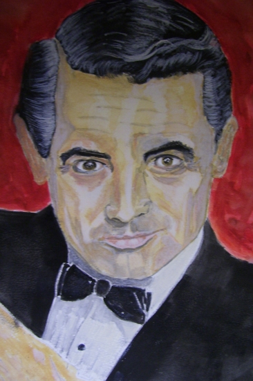 Cary Grant by dabeechey